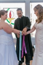 Handfasting for Nonnie and Amelia