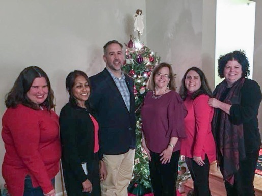 Holiday party for UUCR staff 2018