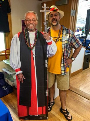 Bishop Curry and I at PRIDE 2018