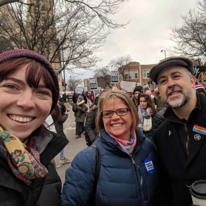 Women's March with Greta and Rica