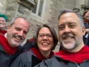 Joe Rettenmeier, Susan Fredericks Gray, and I at MLTS 2019 Graduation
