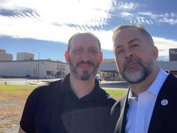 Rev Marlin and I at Tulsa