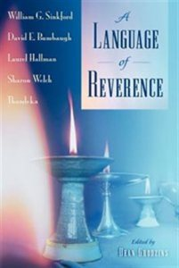 A Language of Reverence, ed. Dean Grodzins
